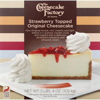 The Cheesecake Factory Cheesecake, Strawberry Topped Original