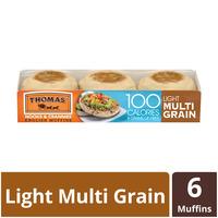 Thomas Light Multi-Grain English Muffins