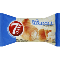 7Days Croissant, Soft, with Vanilla Filling