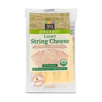 365 Organics Organic Light String Cheese