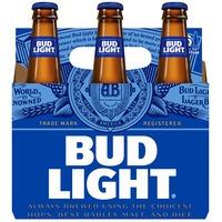 Bud Light Beer LN Btl