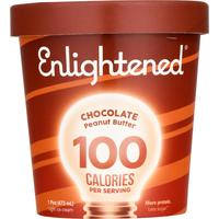Enlightened Ice Cream, Chocolate Peanut Butter