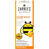 Zarbee's Naturals Children's Cough Syrup with Dark Honey, Natural Grape Flavor Dietary Supplement