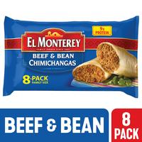El Monterey Beef & Bean Chimichangas