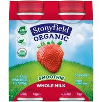 Stonyfield Organic Organic Strawberry Whole Milk Smoothie