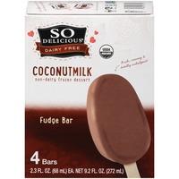 So Delicious Dairy Free Coconutmilk Fudge Bar