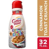 Coffee mate Cinnamon Toast Crunch Liquid Coffee Creamer