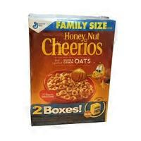 Cheerios Family Size Double Pack Honey Nut Cereal