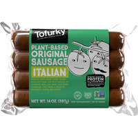 Tofurky Italian Sausage with Sun-Dried Tomatoes and Basil