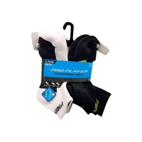 Pro Player Size 3 to 9 Assorted Boy's Ankle Socks