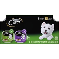 CESAR Canine Cuisine Variety Pack Top Sirloin & Grilled Chicken Flavor Dog Food