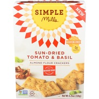 Simple Mills Almond Flour Sundried Tomato Basil Crackers