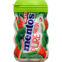 Mentos Gum, Sugarfree, Watermelon