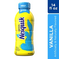 Nestle Nesquik Vanilla Flavored Lowfat Milk Ready to Drink