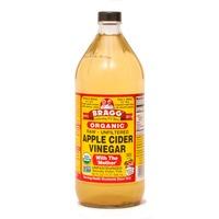 Bragg Organic Apple Cider Vinegar Raw Unfiltered (Non-GMO Certified)