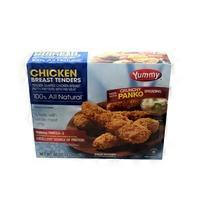 Yummy Tender-shaped Chicken Breast Patty Fritters With Rib Meat
