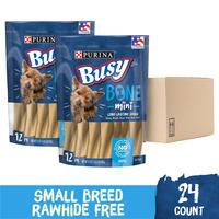 Purina Busy Made in USA Facilities Small Breed Dog Bones, Mini