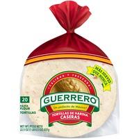 Guerrero Harina Caseras Fajita Flour Tortillas