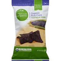 Simple Truth Organic Tortilla Chips, Organic, Blue Corn