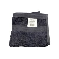 Interiors By Design Feather Touch Charcoal Washcloth