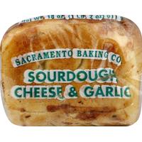 Sacramento Bake Bread, Sourdough, Cheese & Garlic