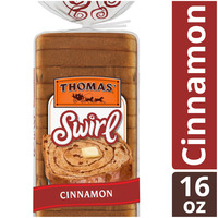 Thomas Cinnamon Swirl Bread made with real Indonesian Cinnamon