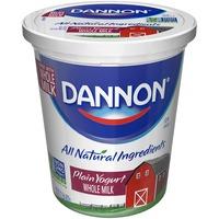 Brand Dannon Classic Plain Whole Milk Yogurt