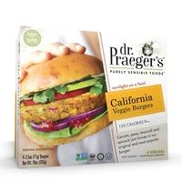Dr. Praeger's Purley Sensible Foods California Veggie Burgers - 4 CT