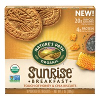 Nature's Path NP Honey Chia Breakfast Biscuits