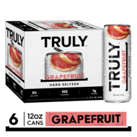 TRULY Hard Seltzer Grapefruit, Spiked & Sparkling Water