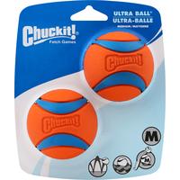 Chuckit! Balls, Ultra, Medium, 2 Pk