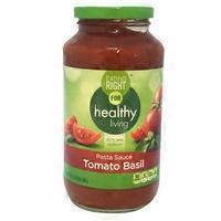 Eating Right Tomato Basil Pasta Sauce