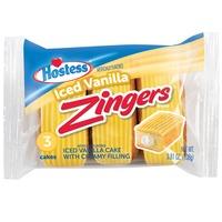 Hostess Iced Vanilla Zingers Single Serve