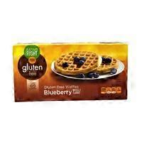 Eating Right Gluten Free Blueberry Waffles