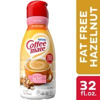 Coffee mate Hazelnut Fat Free Liquid Coffee Creamer