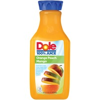 Dole 100% Juice Orange Peach Mango Juice