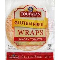 Toufayan Wraps, Gluten Free, Savory Tomato