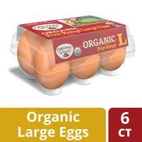 Organic Valley Large Brown Free Range Organic Eggs