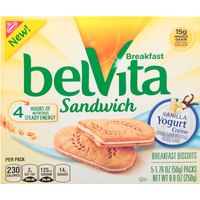 belVita Sandwich, Vanilla Yogurt Creme