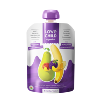 Banana Blueberry & Raspberry Protein Yogurt