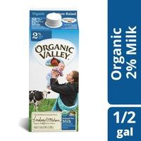 Organic Valley Reduced Fat Milk