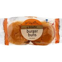 St. Pierre Burger Buns, Brioche