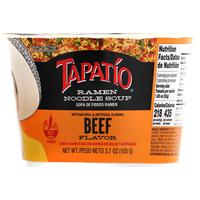 Tapatio Ramen Noodle Soup, Beef Flavor