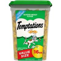 Temptations Seafood Medley Flavor Cat Treats