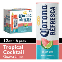 Corona Refresca Guava Lime Spiked Tropical Cocktail Cans