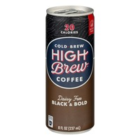High Brew Cold-Brew Coffee Dairy Free Black & Bold