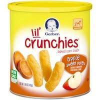 Gerber Graduates Lil' Crunchies Apple & Sweet Potato Baked Corn Snack
