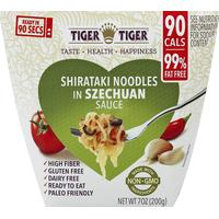 Tiger Tiger Shirataki Noodles, in Szechaun Sauce