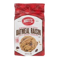 Matt's Cookies Oatmeal Raisin Soft-Baked Cookies