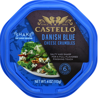 Castello Cheese Crumbles, Danish Blue